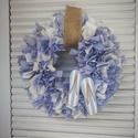 Tengeri fuvallat-dekoráció, Otthon, lakberendezés, Dekoráció, Ajtódísz, kopogtató, Dísz, Készítettem egy nyári hangulatot árasztó kék/fehér színben pompázó dekorációt, melyet lakásod, esetl..., Meska