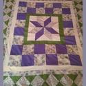 LEÁRAZTAM - Nagy méretű gyerek patchwork takaró, falvédő