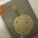 """Kis herceges fotóalbum, Naptár, képeslap, album, Esküvő, Fotóalbum, Nászajándék, Könyvkötés, Papírművészet, Olasz díszpapírral borított """"berakós, tasakos"""" fotóalbum. 100 db 10x15 cm-es fénykép tárolására alk..., Meska"""