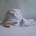 Barna csillagos szafarikendő, Baba-mama-gyerek, Baba-mama kellék, Könnyű pamutvászonból készült szafarikendő. Nyárra klassz viselet.   Mérete 0-5 év    Anya..., Meska