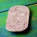 Floral kerámia szappantartó rózsaszín, Közel két éve tartó szerelem a kerámia tárgy...