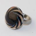Minden napra egy gyűrű ! - lazas-lila örvény, Ha szeretnél minden nap a hangulatodhoz és a ruh...