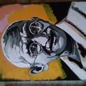 Egyedi festmény, Képzőművészet, Festmény, Akril, Egyedi színvílágú alkotás, 42×30cm., Meska