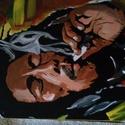Egyedi festmény, Képzőművészet, Festmény, Akril, Egyedi szinvilágú alkotás , 42×30cm., Meska