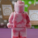 LEGO szappan - TARKA, Szépségápolás, Baba-mama-gyerek, Férfiaknak, Szappan, tisztálkodószer, Különlegesen tarka óriás, eper illatú LEGO szappan készült.  A szappan kézzel öntött, természetes bő..., Meska