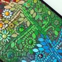 Csudafa - mozaik kép, Dekoráció, Dísz, Kép, Mozaik, Minden növényi ábrázolás közül az életfa a legösszetettebb és legegyetemesebb jelentésű. Utal életr..., Meska