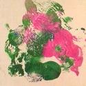 Virágzás, Képzőművészet, Festmény, Akril, Napi festmény, kép, Festészet, Festett tárgyak, 15x15 cm, akril, farostlemez, Meska