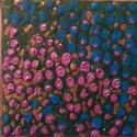 Kert, Képzőművészet, Dekoráció, Festmény, Akril, Festészet, Mindenmás, 15x15 cm, akril, vászon, Meska