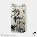 MSL Adam and  Eve, renessaince case for iPhone 5  5s   6   6+  7   7+, Férfiaknak, Képzőművészet, Naptár, jegyzet, tok, Illusztráció, Fotó, grafika, rajz, illusztráció, Festészet, MSL kortárs festőművész műve, kiváló minőségű TPU, azaz szilikon iPhone tokra nyomtatva.   A teremt..., Meska