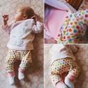 Bébi nadrág, Ruha, divat, cipő, Gyerekruha, Baba (0-1év), Ez a darab a kislányomnak készült.  Hasonlót kérésre varrok! Többféle minta lehetsèges. 100 % biopam..., Meska