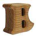 Egyedi tölgyfa puzzle betűk 3D, Dekoráció, Otthon, lakberendezés, Dísz, Utcatábla, névtábla, Famegmunkálás, Egyedi, személyes ajándék:  Tölgyfából készült puzzle betűk. A domború felületük nem csak a szemnek..., Meska