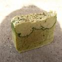 Indiai citromfüves zöldteás kecsketejszappan 150 gr, Frontérzékenységem gyógyírját most szappanba...