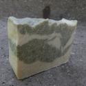 CSALÁN-MENTA bio kókusztejszappan 150 gr, Szépségápolás, Szappan, tisztálkodószer, Növényi alapanyagú szappan,  Bio csalántea és gyógynövénypor gondoskodik a méregtelenítésről, ráadásul fehér és zöld agyag is ke..., Meska