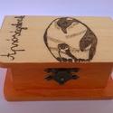 Narancsos ragyogás kis doboz, Dekoráció, Otthon, lakberendezés, Tárolóeszköz, Doboz, Narancsos ragyogás kis doboz egy vidám szemvidító dekoráció amelyben nagyszerűen elférnek az apróság..., Meska
