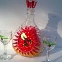 Lélekmelengető üveg poharakkal, Férfiaknak, Dekoráció, Sör, bor, pálinka, Üvegművészet, Lélekmelengető üveg poharakkal egy dekoratív szett amely bármilyen itallal megtöltve remek ajándék ..., Meska