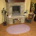 Horgolt ovális szőnyeg, Otthon, lakberendezés, Lakástextil, Szőnyeg, Horgolás, Igen szép meghatározatlan színe van ennek az ovális 75% gyapjútartalmú szőnyegnek. Nappaliba , kand..., Meska