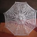 Különleges napernyő, Dekoráció, Esküvő, Menyasszonyi ruha, Megint találtam egy szép mintát napernyőnek Menyasszonyoknak is nagyon szép kiegészítő lehet, de bár..., Meska
