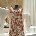Design virágos ruha .Akció!, Ruha, divat, cipő, Női ruha, Ruha, Varrás,  Design virágmintás ruha. Két oldalán bővülő  különleges megoldással kialakított zsebekkel. Vidám, ..., Meska