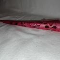 Pink virágos hajcsat, Ruha, divat, cipő, Hajbavaló, Hajcsat, Akril festéssel díszített hajcsat. 12 cm hosszú.   Személyes átvétel: Mosonmagyaróvár vagy ..., Meska