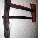 Polc, Bútor, Polc, Famegmunkálás, Konyhai kis polc. Méretei: 70 cm * 65 cm. A keret hasított, csiszolt akácfából van. A Polc keményfa..., Meska