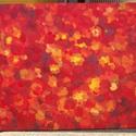 Őszi hangulat, Dekoráció, Férfiaknak, Képzőművészet, Otthon, lakberendezés, 70x100cm-es olajkép vászonra festve. Figura nélkül akartam az érzéseimet kifejezni az ősszel kapcsol..., Meska