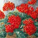 Virágzás, Dekoráció, Képzőművészet, Otthon, lakberendezés, Festmény, Akvarell, minőségi festékkel megfestve akvarell papíron. 2016 májusában készült, mikor is sokat eset..., Meska