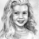 Portré, karikatúra - egyedi ajándék, Ötletes ajándék, a/3-as méretben, az ár 1 fő...