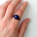 Lápisz, Rézdrót gyűrűt tekergettem, Lápis lazuli ásv...