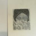 GLORIA SWANSON , Képzőművészet, Grafika, Rajz, Festészet, Gloria Swanson némafilm színésznőről készült kép,üveglappal az elején ,kerettel együtt.  Szén-grafi..., Meska