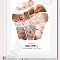 A3-as cupcake muffin fényképes print montázs gyerekszoba dekoráció faliposzter, poszter, babavárás, barátnő , Baba-mama-gyerek, Dekoráció, Gyerekszoba, Baba falikép, Cupcake, Muffin formába öntött fényképes print, poszter nemcsak gyerekszobába.  Ez a cupcake, muffin..., Meska
