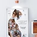 Kismama poszter A3-as print,egyedi fényképes, kép, fotó, poszter, montázs, babavárás, terhesség várandós buli, babaváró , Baba-mama-gyerek, Dekoráció, Otthon, lakberendezés, Kép, Hamar eltelt a 9 hónap amíg a picinyed a pocakodban volt? Babaváró buliba mész ahova vinnél valami k..., Meska