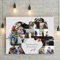 Egyedi fényképes szerelmes pár poszter kerettel, Szülinapi ajándék fotóval házassági évfordulóra, nászajándékba 1 éves , Egyedi fényképes szerelmes pár poszter, Szülin...