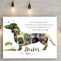 Egyedi tacskós tacsis kutyusus kutya falidekoráció, kutyák szerelmeseinek, kutyarajongóknak, állatbarátoknak állatos , Egyedi tacskós tacsis kutyusus kutya falidekorác...