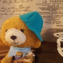Gabo - Lélekmackó, Játék, Játékfigura, Szeretném bemutatni Nektek Gabót! :) Pirinyó nadrágjában,igazi kis csibész!  Huncut mosolyával...no ..., Meska