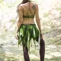 Tündérszoknya. Selyem nemez manóruha. Fesztivál hippi szoknya. Nyári hippi szoknya., Ruha, divat, cipő, Kendő, sál, sapka, kesztyű, Sál, Ez a gyönyörü tündérszoknya a legpuhább merinoi gyapjubol készült selyem betétekkel. Himzett levelek..., Meska
