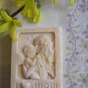 """Lazító """"Mami"""" szappan, Szépségápolás, Szappan, tisztálkodószer, Növényi alapanyagú szappan, Natúrszappan, Szappankészítés, Nyugtató szappan levendula és citromfű illóolajokkal.   Csak 100%-os tisztaságú olajokat, zsírokat,..., Meska"""