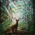 Úton hazafelé - akril festmény, Képzőművészet, Festmény, Akril, Festészet, 50x70 -es méretű feszített vászonra készült képem csodás dekoráció lehet otthonodban., Meska