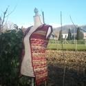 Vékony gyapjú hosszú horgolt mellény, Vékony gyapjú fonalból készítettem ezt könny...