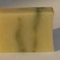 Avokádó-aloe szappan, Szépségápolás, Szappan, tisztálkodószer, Natúrszappan, Növényi alapanyagú szappan, Szappankészítés, Az alap olajokon kívül nagy mennyiségben tartalmaz hidegen sajtolt, sűrű zöld színű avokádó olajat ..., Meska