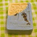 Olívás, levendula szappan, Baba-mama-gyerek, Szépségápolás, Szappan, tisztálkodószer, Növényi alapanyagú szappan, Szappankészítés, Érzékeny bőrűek részére készítettem ezt az ápoló szappant,olívaolaj és levendulavirág felhasználásá..., Meska