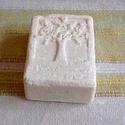 himalája sóval készült szappan, Táska, Divat & Szépség, Gyerek & játék, Egyéb, Szépség(ápolás), Krém, szappan, dezodor, Kecsketejjel készítettem ezt a különleges, ápoló szappant.A kecsketej igazi kecsketejet jelent, bará..., Meska