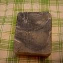 Fekete  szappan zsíros bőrre, Táska, Divat & Szépség, Férfiaknak, Szépség(ápolás), Krém, szappan, dezodor, Kecsketejes szappan, Zsíros bőrre készítettem ezt a szappant, amely ápol, jól habzik és a zsíros bőrre is jótékony hatáss..., Meska