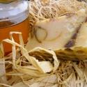 Natúr mézes kecsketejes kurkumával, Szépségápolás, Szappan, tisztálkodószer, Kecsketejes szappan, Natúrszappan, Szappankészítés, Kellemes tapintású, dekoratív szappan. Szuper ápoló tulajdonságát a sheavajnak és a házi kecsketejn..., Meska