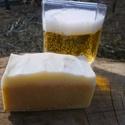 Sörös szappan az üde bőrért, Szépségápolás, Szappan, tisztálkodószer, Növényi alapanyagú szappan, Szappankészítés, A sör B-vitaminokban gazdag, mely a szép bőrhöz elengedhetetlen. Ápolja, simává, feszessé teszi a b..., Meska