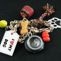 AKCIÓ - I Love My Dog karkötő - Rendelhető, Ékszer, óra, Karkötő, AKCIÓ - 4490 Ft helyett most csak 3490 Ft Szereted a kutyádat? Mutasd meg mindenkinek! :) Süthető gy..., Meska