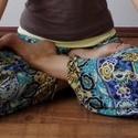 Jóga / pilates / relax nadrág, Ruha, divat, cipő, Női ruha, Nadrág, Varrás, Egyedi, nagyon kényelmes nadrág, rugalmas puha pamut anyagból. Szabása és anyaga miatt kiválóan alk..., Meska