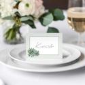 Esküvői ültetőkártya, ültetőkártya, divatos, greenery stílus, kövirózsás,, Esküvő, Esküvői dekoráció, Meghívó, ültetőkártya, köszönőajándék, D I V A T O S G R E E N E R Y S T Í L U S Ú E S K Ü V Ő I Ü L T E T Ő K Á R T Y A  Esküvői ..., Meska