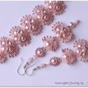 Csupa rózsaszín szett, Csodaszép és igen mutatós karkötőből és fü...