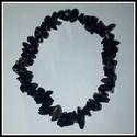 Iron stone chips karkötő, magas minőségű természetes féldrágakövekből, Ékszer, Karkötő, Iron stone chips karkötő magas minőségű természetes féldrágakövekből.  Különleges rajzolatú természe..., Meska