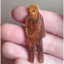 Chewbacca Csubakka Csubi kitűző - Star Wars Kollekció I., Star Wars ihlette kitűzők készültek nemrégibe...